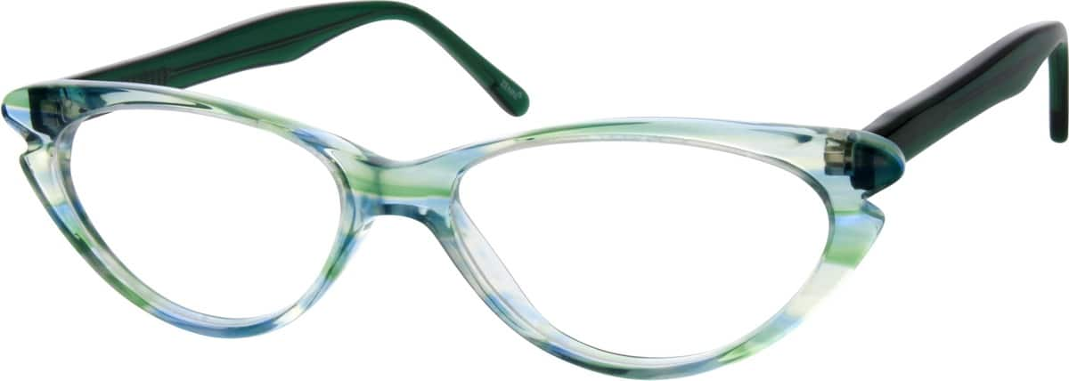 Girl Full Rim Acetate/Plastic Eyeglasses #181624