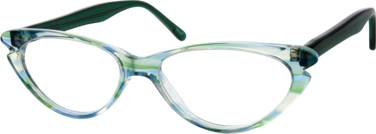 GirlFull RimAcetate/PlasticEyeglasses #181622