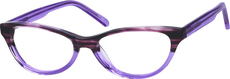 Girls' Retro Cat-Eye Eyeglasses