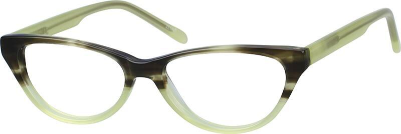 GirlFull RimAcetate/PlasticEyeglasses #181724