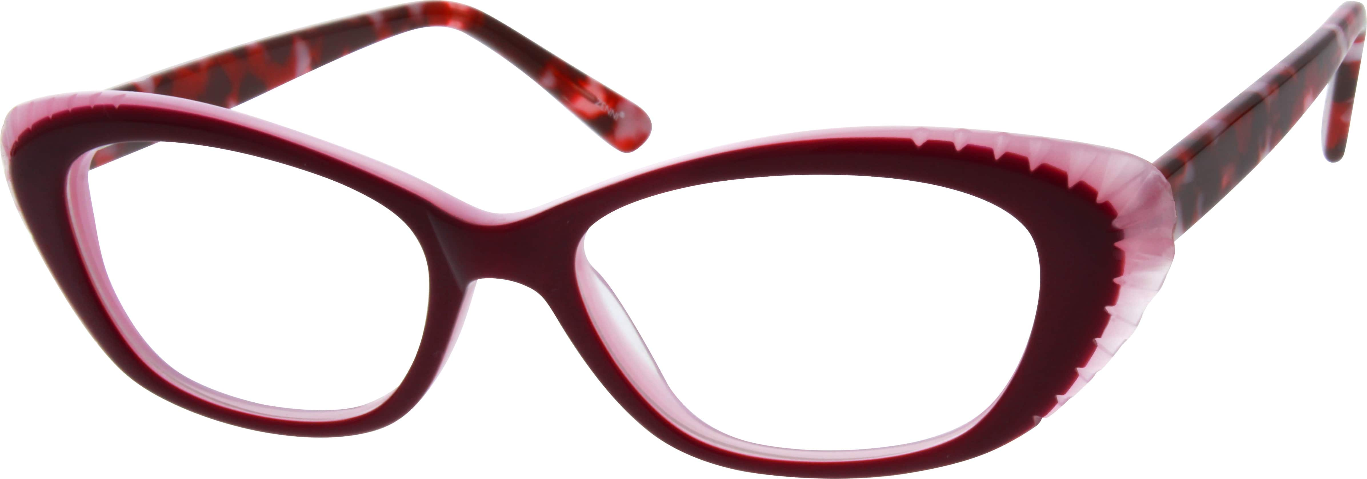 Women Full Rim Acetate/Plastic Eyeglasses #181817