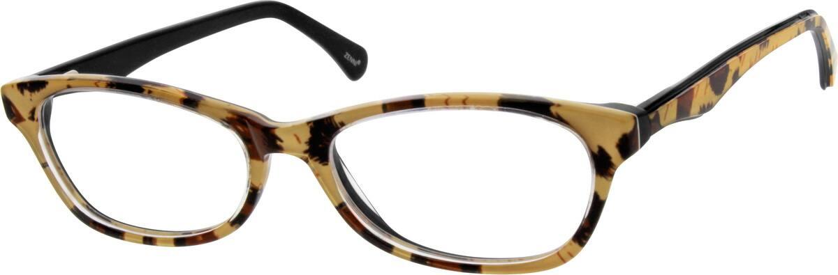 WomenFull RimAcetate/PlasticEyeglasses #182135