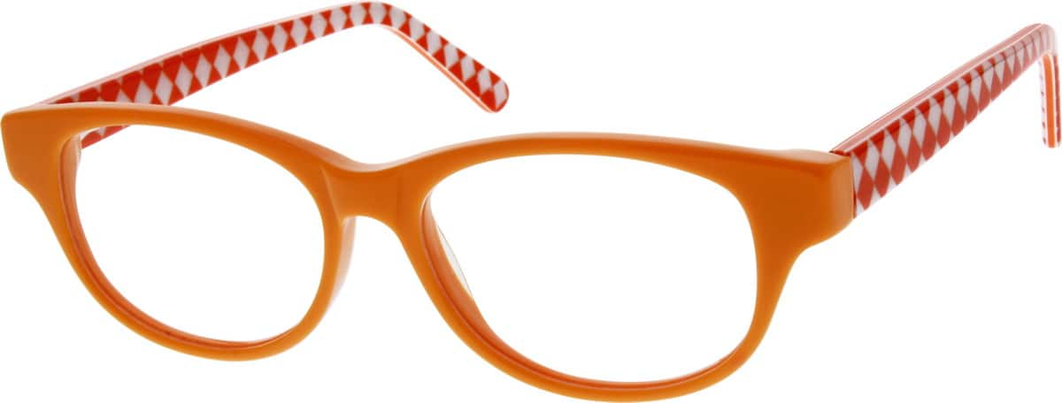 Girl Full Rim Acetate/Plastic Eyeglasses #182517