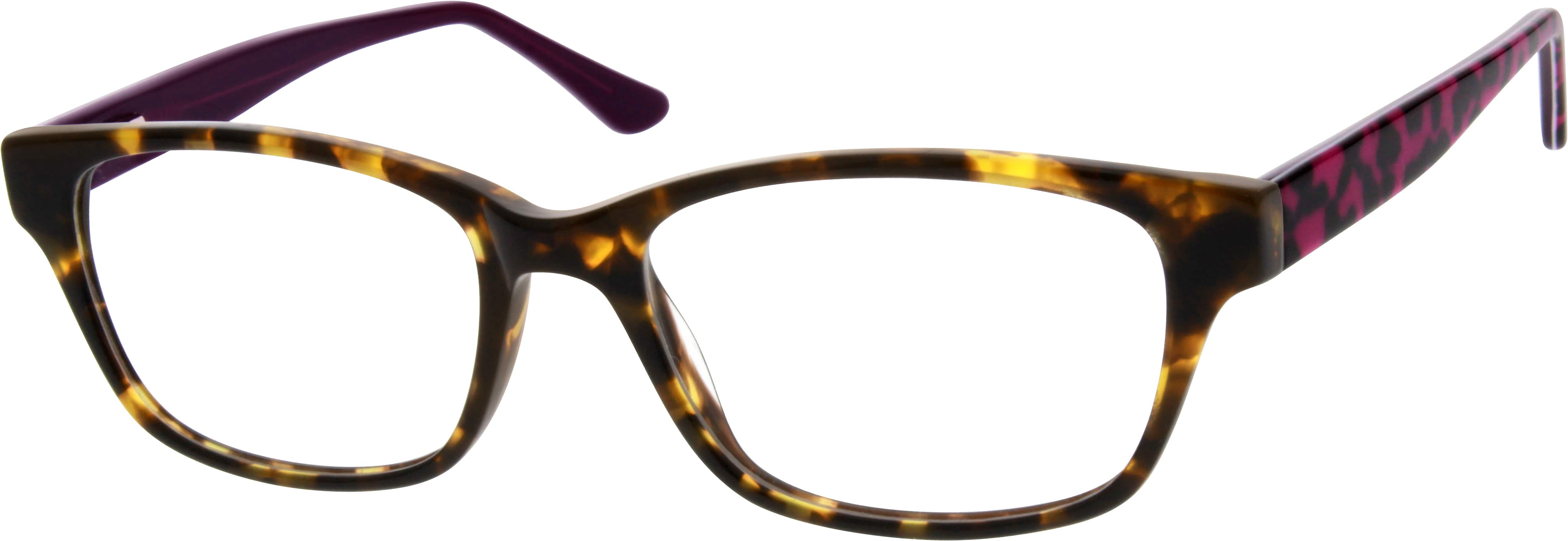 Women Full Rim Acetate/Plastic Eyeglasses #182625