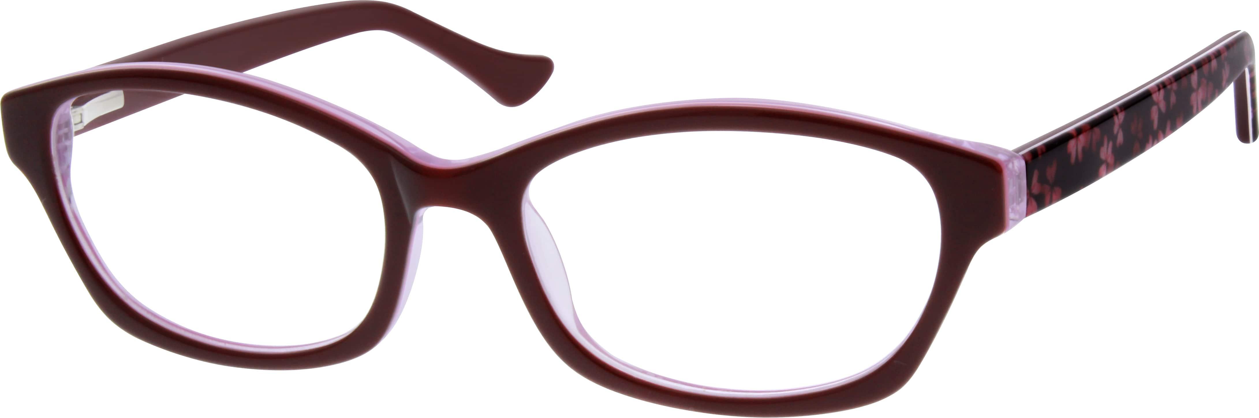 Purple Acetate Full Rim Frame With Spring Hinges 1827