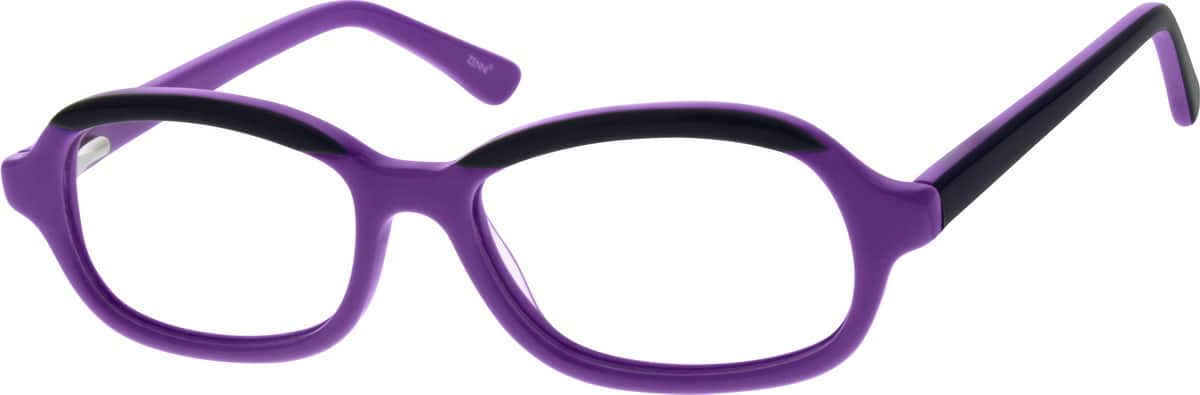 Kids Full Rim Acetate/Plastic Eyeglasses #182917