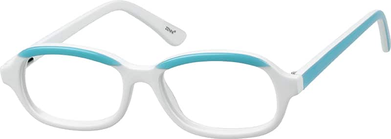 Children's Acetate Full-Rim Frame with Spring Hinges