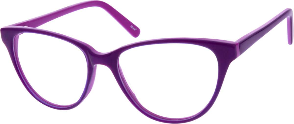 Women Full Rim Acetate/Plastic Eyeglasses #183024