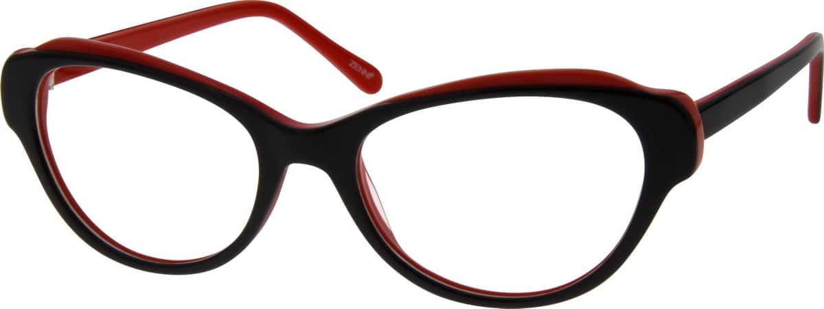 WomenFull RimAcetate/PlasticEyeglasses #183321