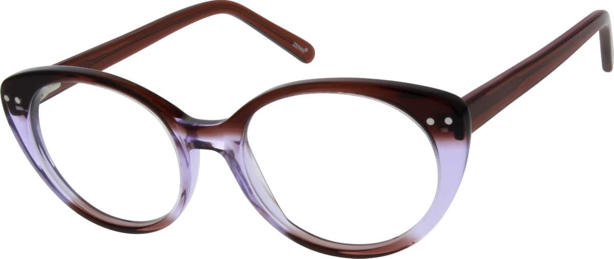 Women Full Rim Acetate/Plastic Eyeglasses #183415