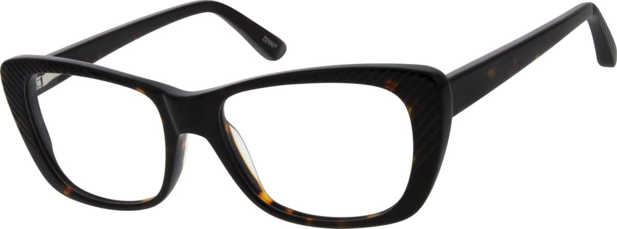 Women Full Rim Acetate/Plastic Eyeglasses #183625