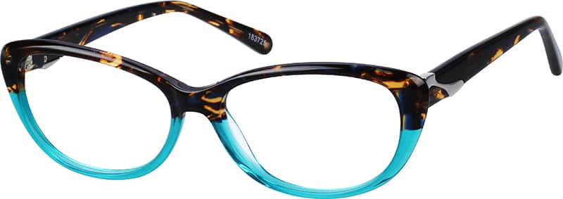 Women Full Rim Acetate/Plastic Eyeglasses #183725