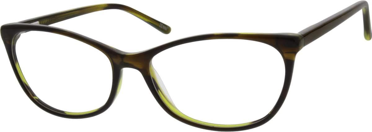 WomenFull RimAcetate/PlasticEyeglasses #184116