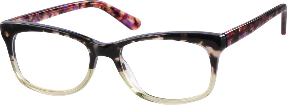 Women Full Rim Acetate/Plastic Eyeglasses #184224