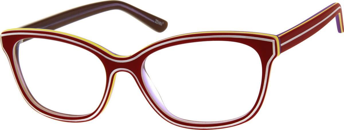 WomenFull RimAcetate/PlasticEyeglasses #184424