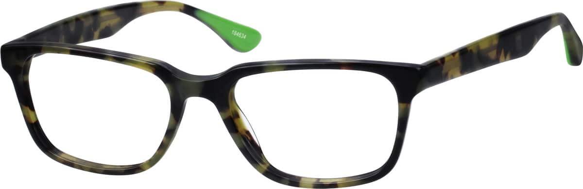 UnisexFull RimAcetate/PlasticEyeglasses #184625