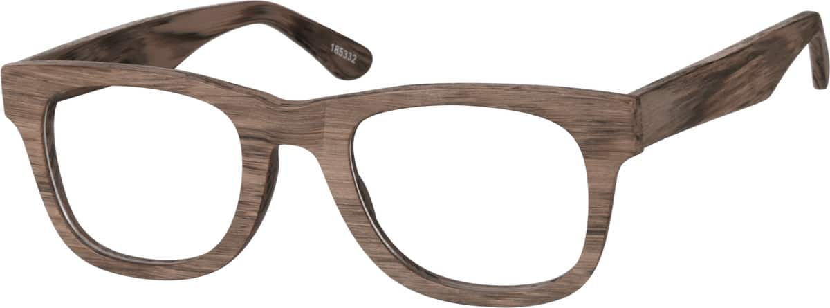 Wood Texture Acetate FullRim Frame 1853 Zenni Optical Eyeglasses