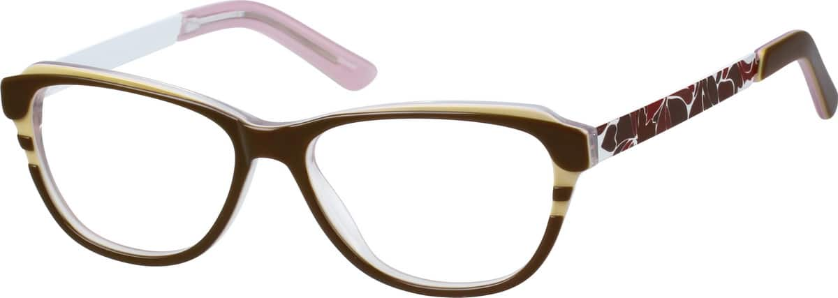 womens-full-rim-mixed materials-oval-eyeglass-frames-185715