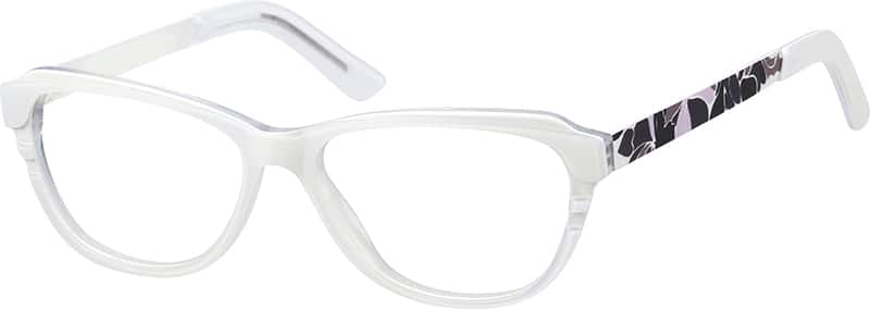 Women Full Rim Mixed Materials Eyeglasses #185730