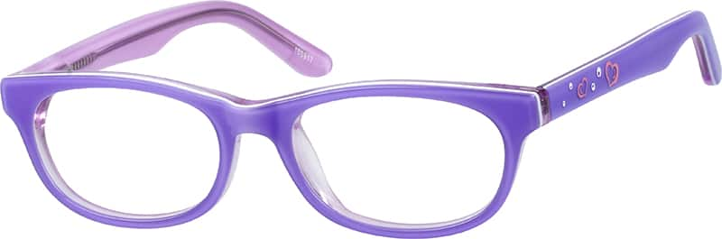 Girls' Oval Eyeglasses