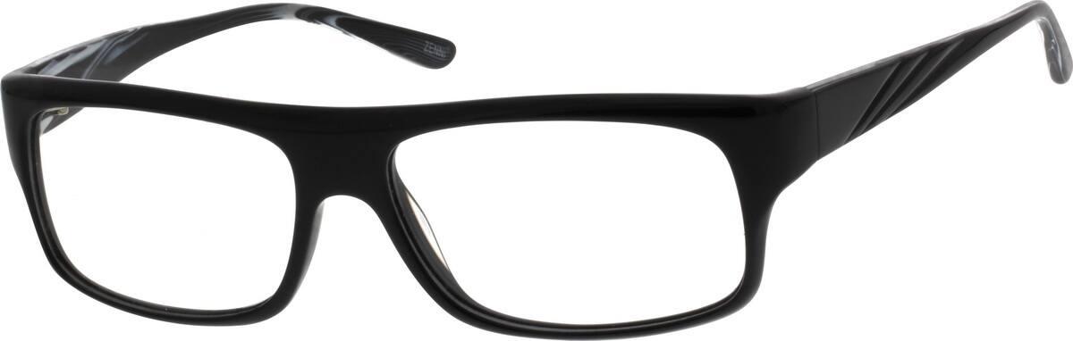 MenFull RimAcetate/PlasticEyeglasses #186516