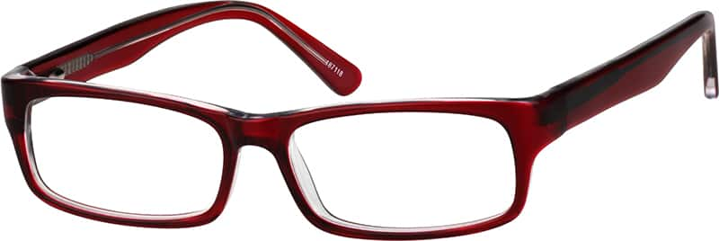 boys full rim acetate plastic rectangle eyeglass frames