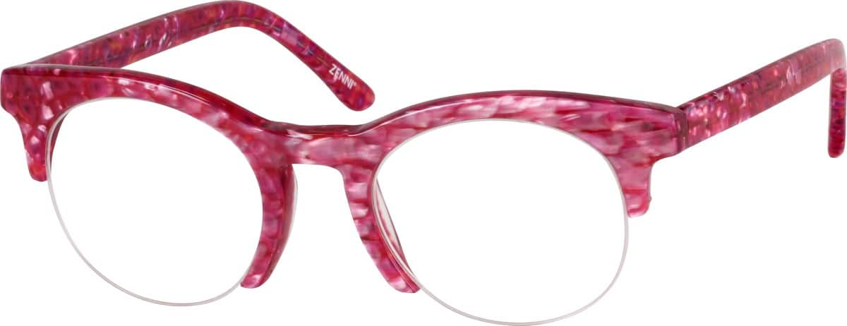 WomenHalf RimAcetate/PlasticEyeglasses #188018