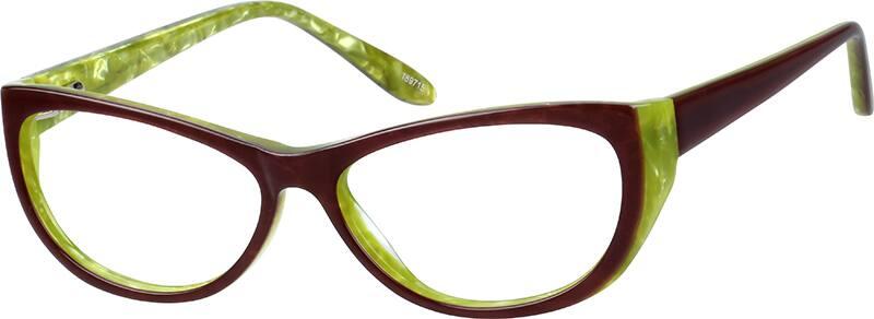WomenFull RimAcetate/PlasticEyeglasses #189715