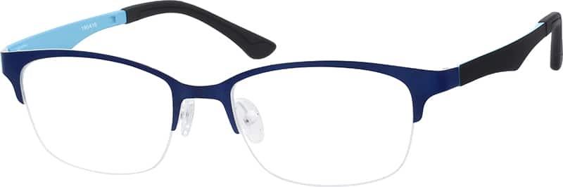 unisex-halfrim-mixed-materials-rectangle-eyeglass-frames-190416