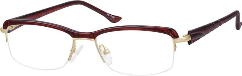 Black Browline Eyeglasses #1916 Zenni Optical Eyeglasses