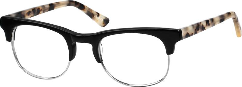 Browline Glasses Zenni Optical : Black Browline Eyeglasses #1918 Zenni Optical Eyeglasses
