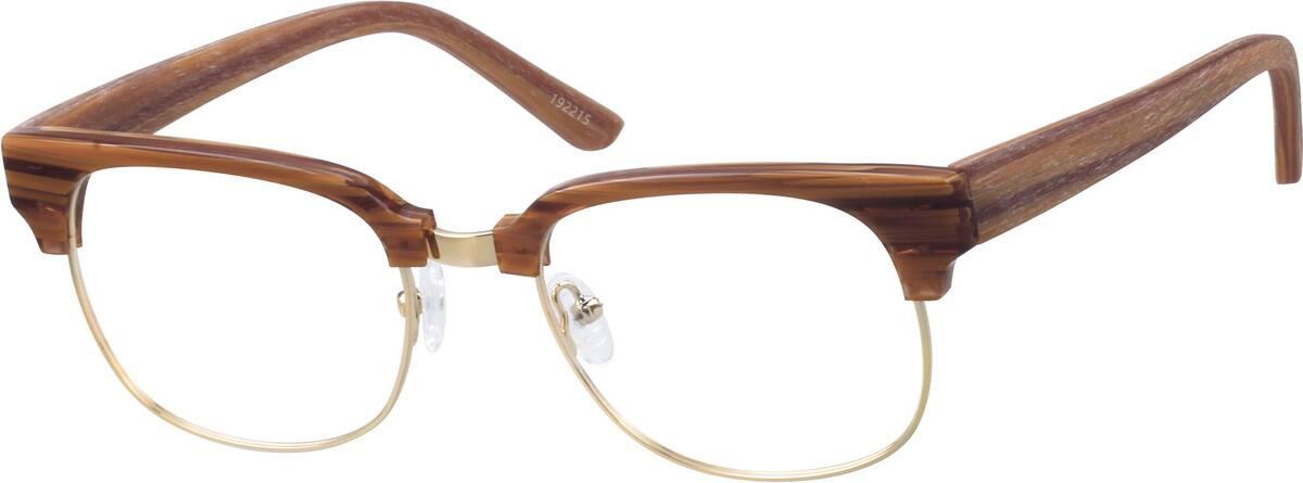 MenFull RimMixed MaterialsEyeglasses #192212