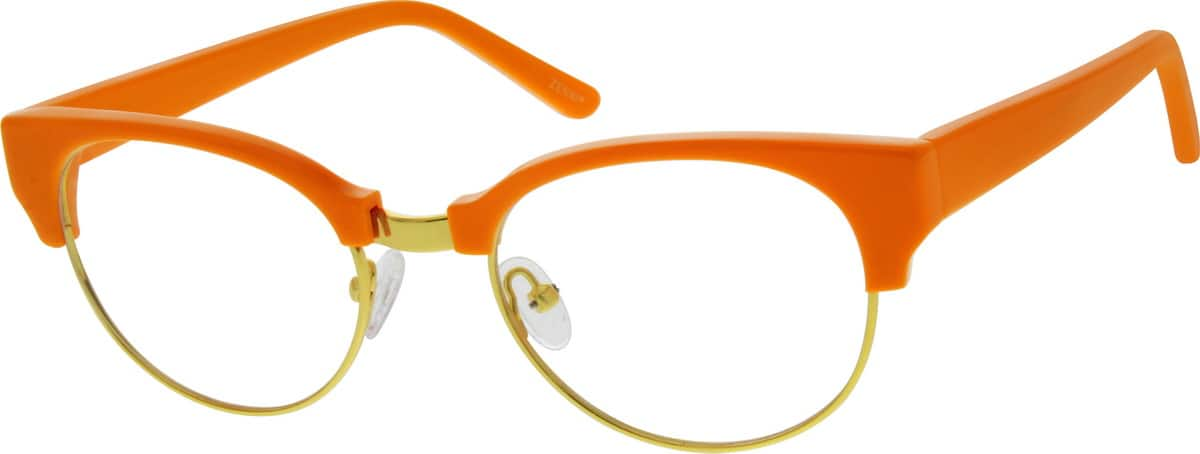 WomenFull RimMixed MaterialsEyeglasses #192324