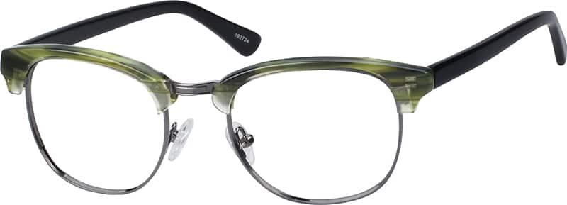 Browline Glasses Zenni Optical : Green Stinson Browline Eyeglasses #1927 Zenni Optical ...