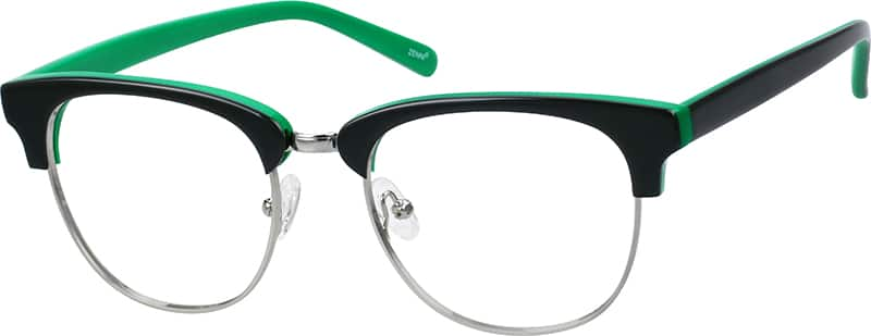 unisex-fullrim-mixed-materials-square-eyeglass-frames-194521