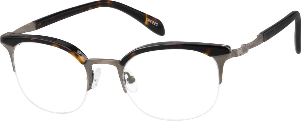 Browline Glasses Zenni Optical : Tortoiseshell Browline Eyeglasses #1949 Zenni Optical ...