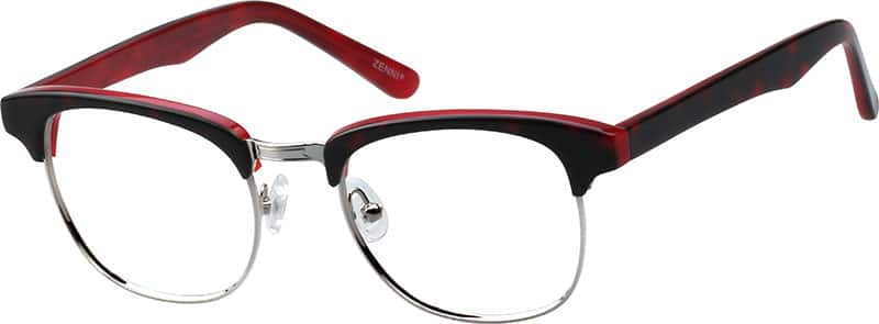 WomenFull RimMixed MaterialsEyeglasses #195025