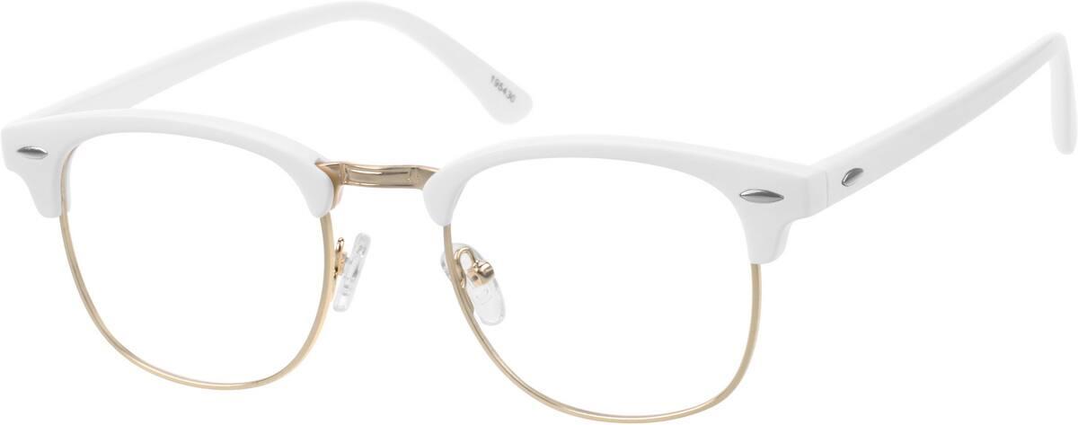 UnisexFull RimMixed MaterialsEyeglasses #195421