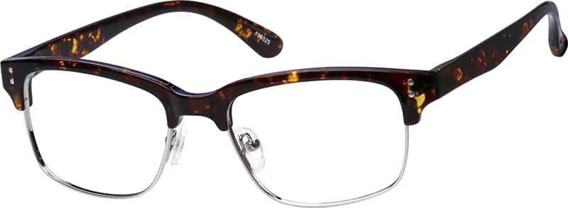 Tortoiseshell Wilshire Browline Eyeglasses #1965 Zenni ...