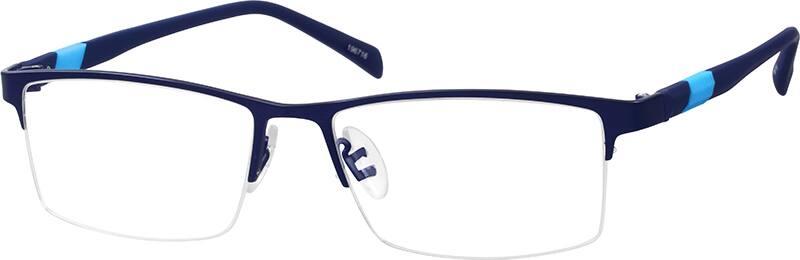 MenHalf RimMixed MaterialsEyeglasses #196716