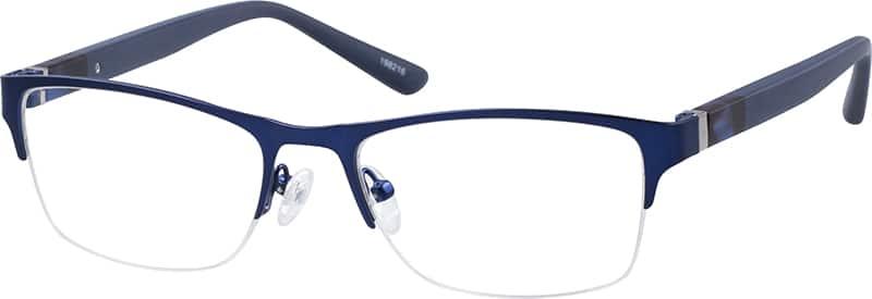 MenHalf RimMixed MaterialsEyeglasses #198216