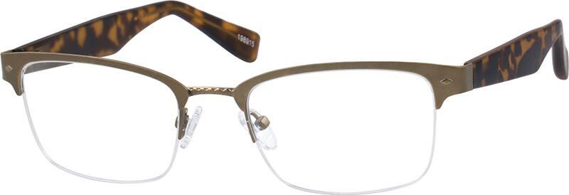 Browline Glasses Zenni Optical : Brown Browline Eyeglasses #1989 Zenni Optical Eyeglasses