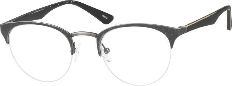 WomenHalf RimMixed MaterialsEyeglasses #199012