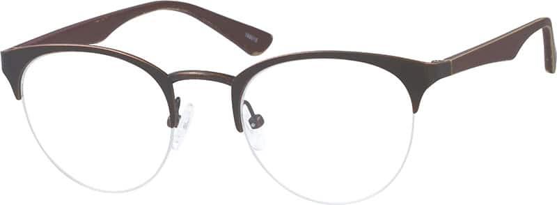 Browline Glasses Zenni Optical : Brown Browline Eyeglasses #1990 Zenni Optical Eyeglasses