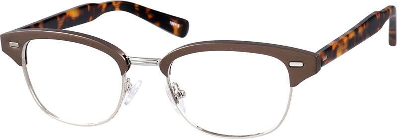 Brown Browline Eyeglasses #1991 | Zenni Optical Eyeglasses