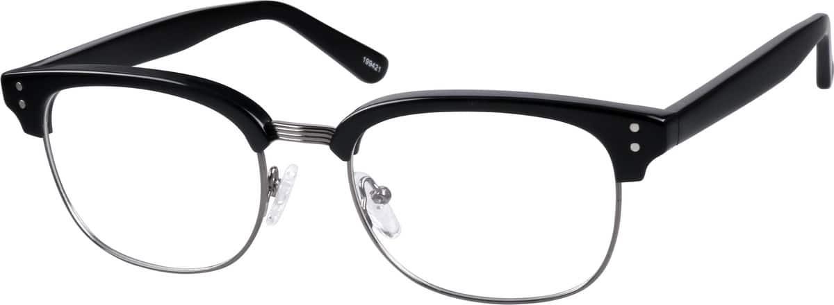 MenFull RimMixed MaterialsEyeglasses #199431