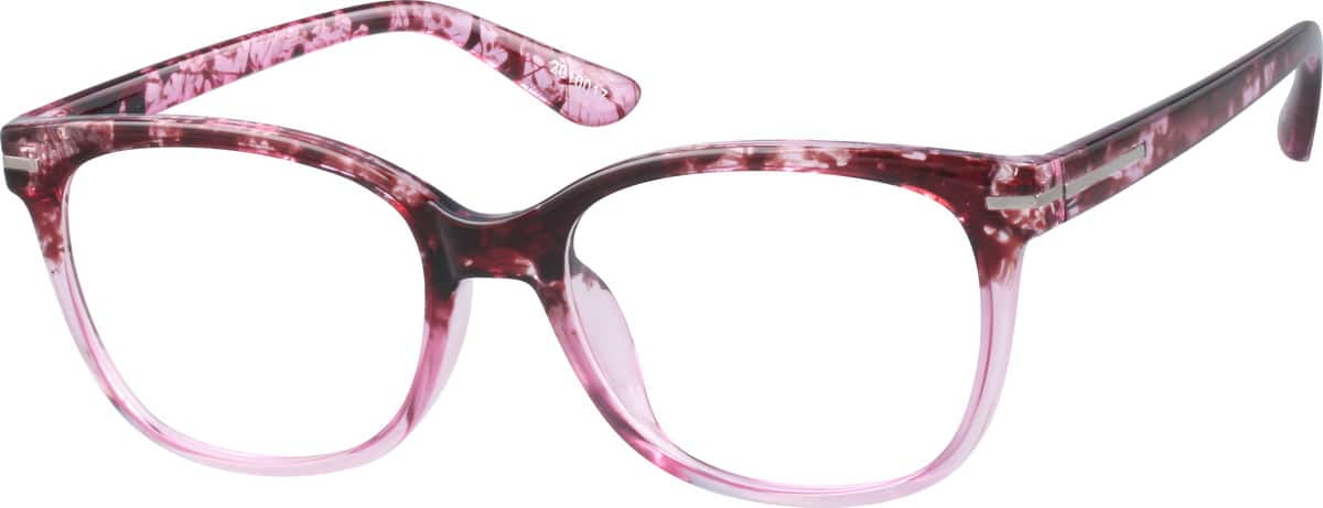 Women Full Rim Acetate/Plastic Eyeglasses #2010015