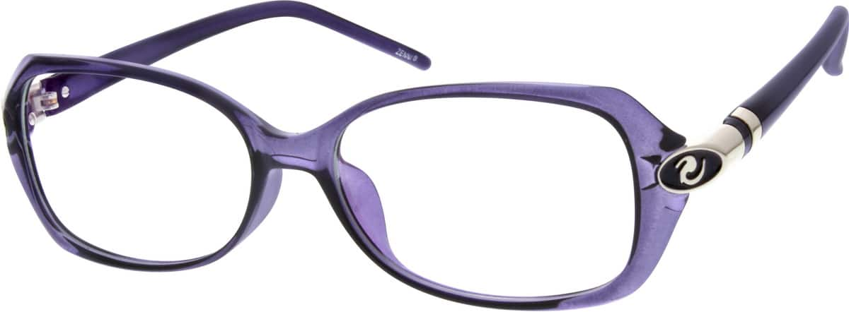 Women Full Rim Acetate/Plastic Eyeglasses #201015