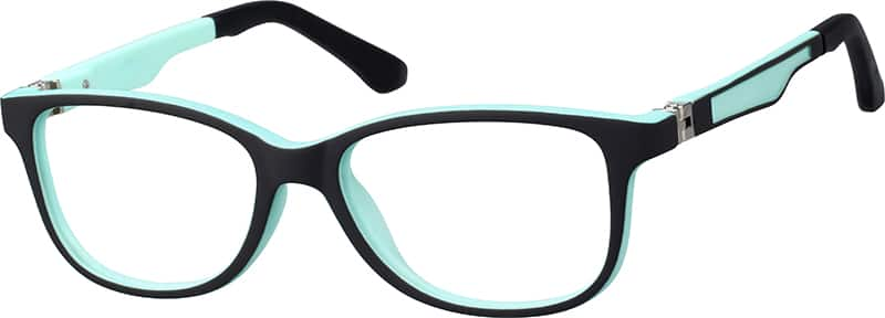 Kids' Comfortable Square Eyeglasses