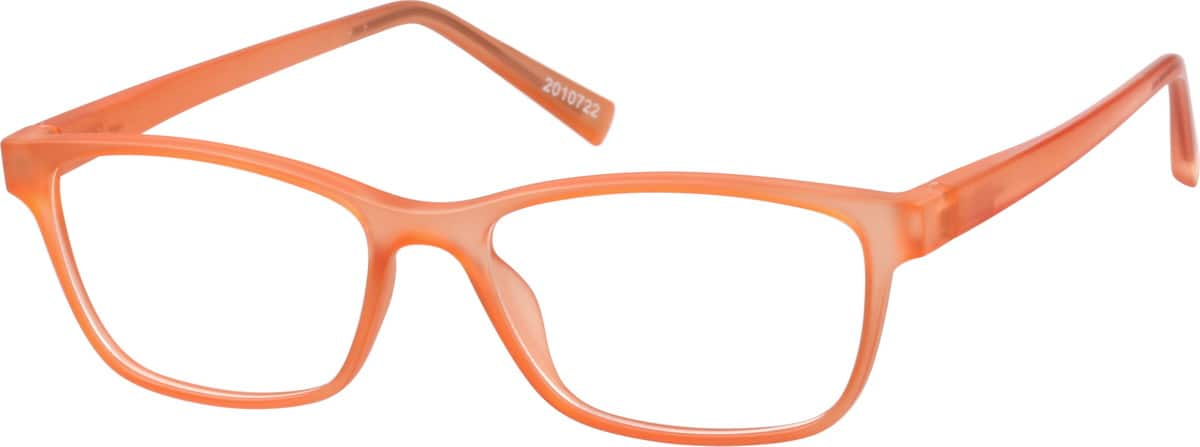 Girls' Lightweight Rectangular Eyeglasses